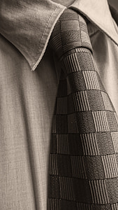 tie, classical, costume, sepia, tiles, shirt, men