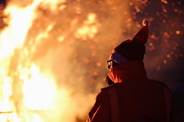 foc, marca, cremar, llar de foc, foc de fusta, flama