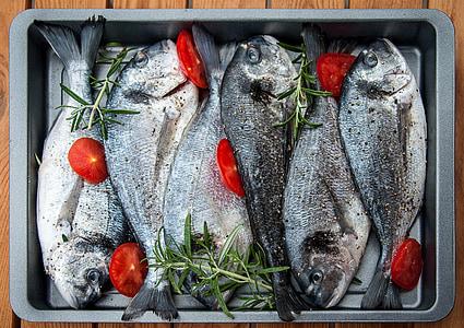 kuld, kala, grillimine, Grill, valmistada, ettevalmistamine, süüa