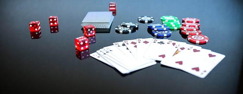 póker, játék, játék, szerencsejáték, szerencse, szerencsés kocka, Craps