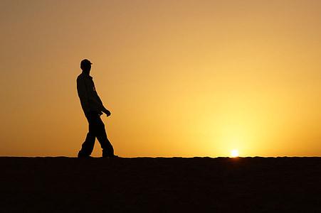 contra la llum, posta de sol, ombra, color, crepuscle, llum i ombra, Cimera