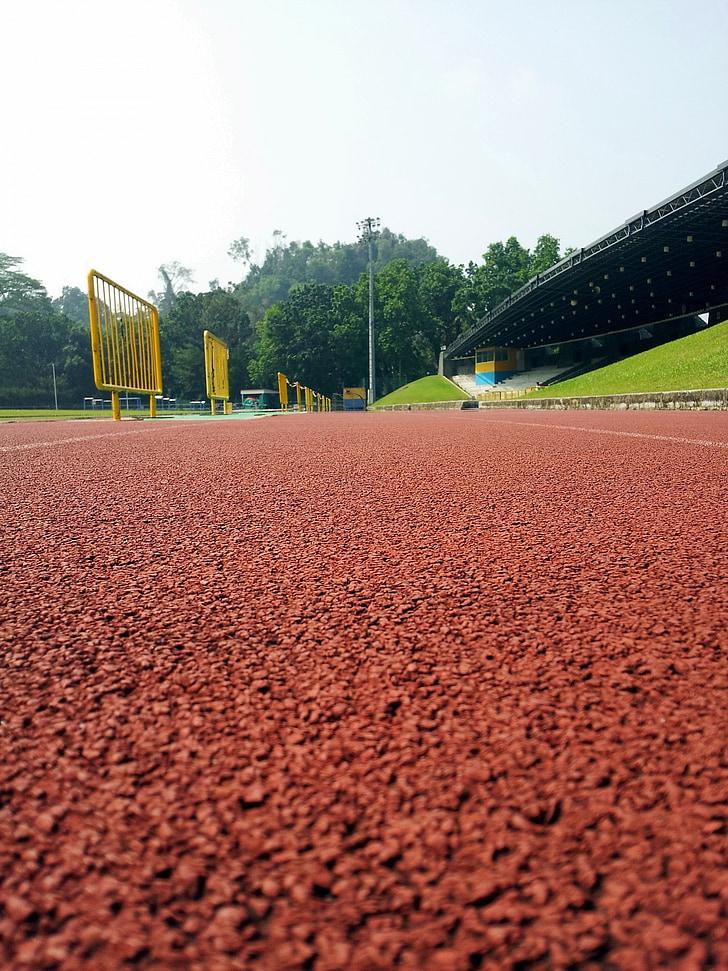 pista, corrent, esport, cursa, camp, cursa, l'aire lliure