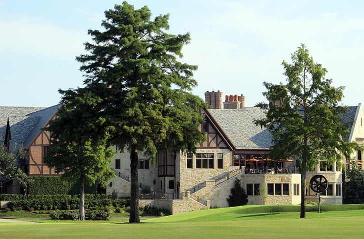 country club, golf course, golf, green, club, grass, recreation