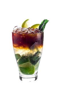kokteil, Mojito, jook, alkoholi, menüü, Baar, joodud