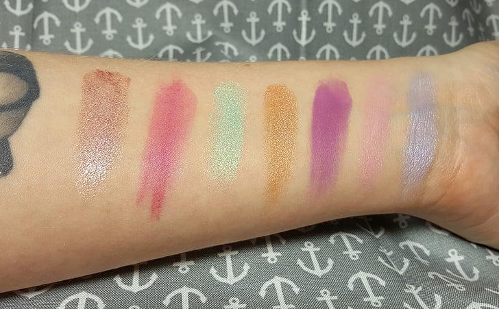 化妆, 眼影, 粉彩, 魅力, 化妆品, 光明, 化妆模特