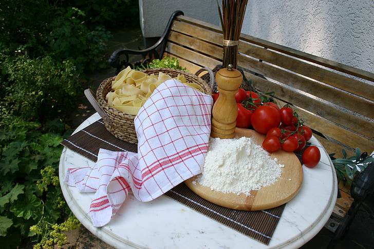 パスタ, 焼く, クック, 食べる, 予算, 食品, 小麦粉