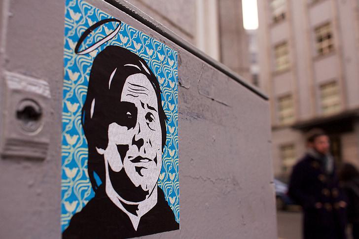 graffiti, falfestmény, Művészetek, falfestés, városi, spray, grunge
