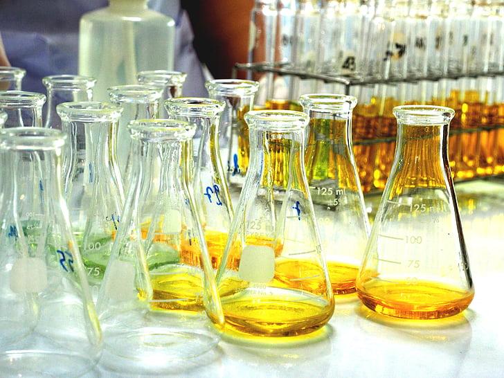 Labor, tudomány, cső, kutatási, tudományos kísérlet, laboratóriumi, egészségügy és gyógyászat