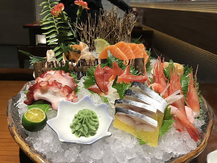 Seafood, gourmet, elämä