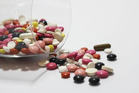 medicaments, cura, comprimits, Farmàcia, mèdica, la malaltia, emmalaltir