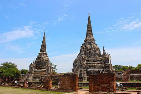 Tailàndia, Ayutthaya, ciutat, paisatge