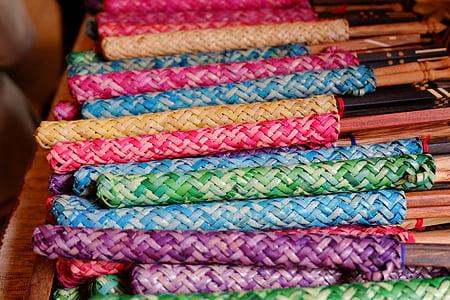 dali, Farba, remeslá, kultúr, textilné, viac farebné, remeslo