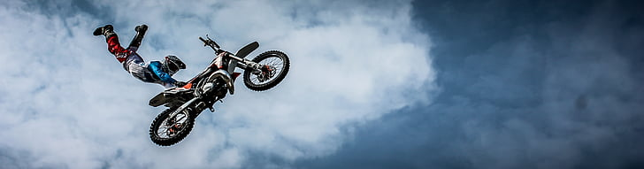 biker, motorsykkel, smuss, Extreme, sykkel, ri, sport