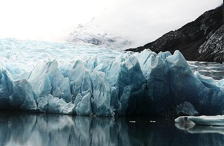 antarctic, chile, cold, glacier, ice, iceberg, polar