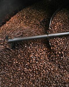 kofein, kava, zrna kave, prženje kave, hrana i piće, pržena zrna kave, obilje