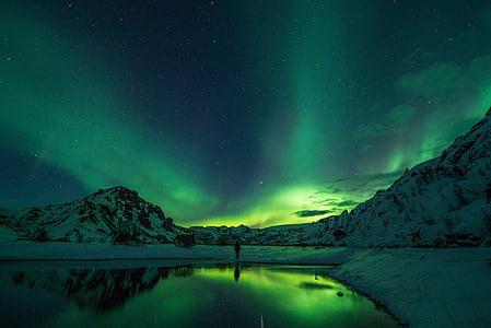 自然, 風景, グリーン, 旅行, 冒険, 反射, 暗い