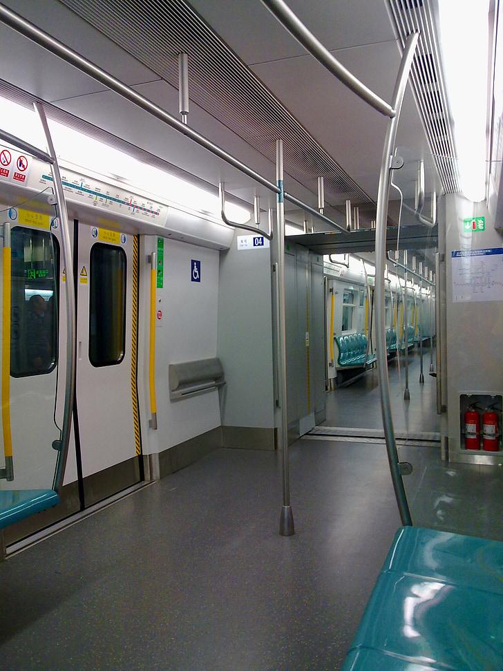 metro, rail transit, beijing subway line 4 line, beijing, carriage