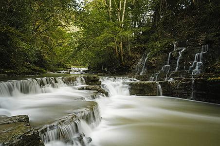 vee, jõgi, veed, schlichem, loodus, juga, looduskaitse
