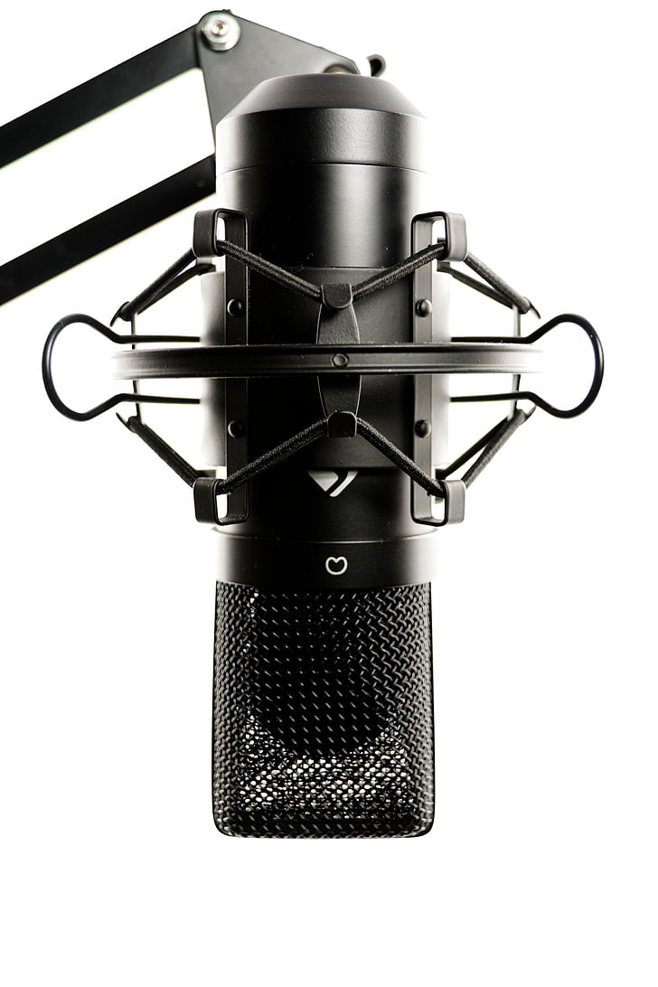 studio, microphone, vocal microphone, audio, recording, sound studio, audio equipment