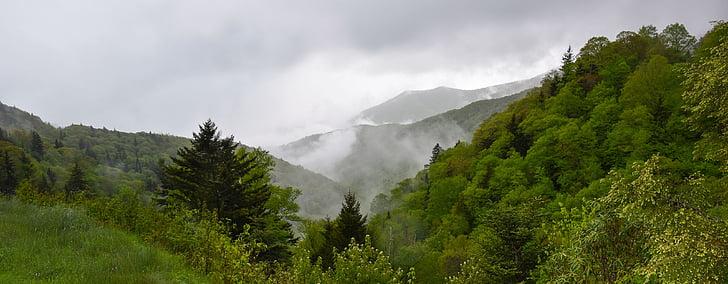 manzara, dağlar, doğa, dağ manzarası, Yeşil, sahne, seyahat