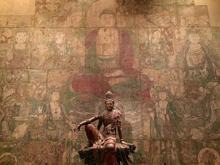 Đức Phật, bức tượng, tôn giáo, tác phẩm điêu khắc, Châu á, cổ đại, văn hóa