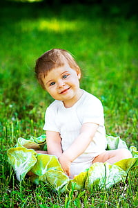 mùa hè, mặt trời, Thiên nhiên, em bé, hài lòng, Vui vẻ, niềm vui
