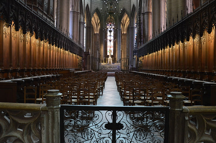 cathedral, church, nave