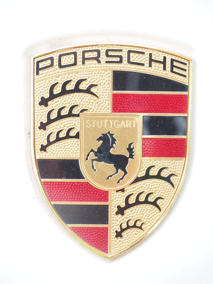 Porsche, Porsche Escut, Escut d'armes, marca, marca de cotxes, personatges, Porsche personatges
