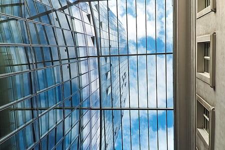 architecture, skyscraper, glass facades, modern, facade, sky, building