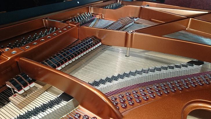 фортепіано, рояль, крило, музика