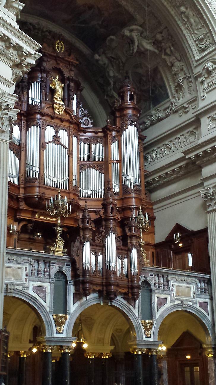 オルガン, dom, ベルリン, 教会, 器官笛, パッサウ, 主な器官