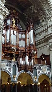 organų, Dom, Berlynas, bažnyčia, organų švilpukas, pasau, pagrindines organų sistemų