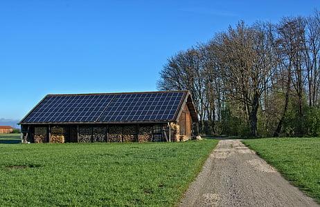energia, solar, fusta, l'energia solar, fotovoltaiques, energia alternativa, alternativa