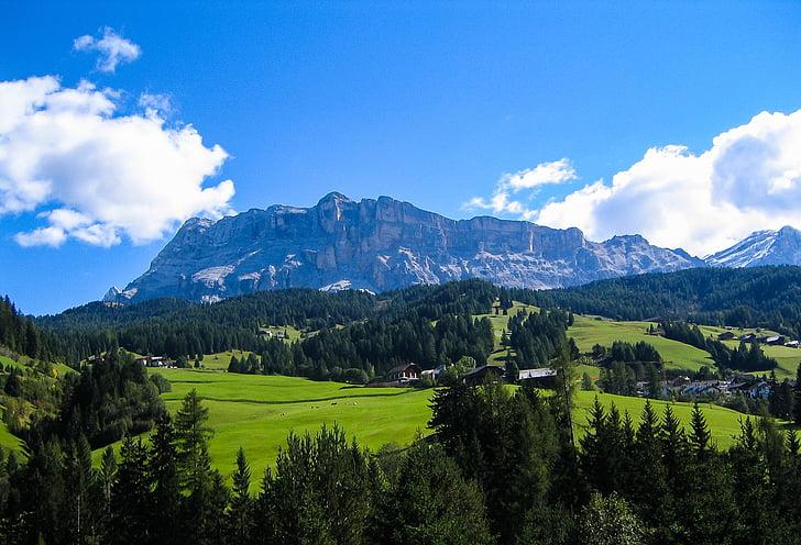 paisatge de muntanya, muntanyes, alpí