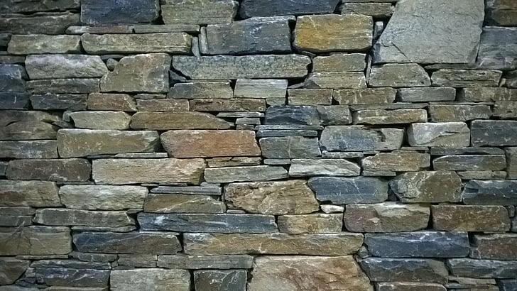 mur de Pierre, mur, Grèce, pierres, mur en pierre naturelle