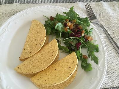 Tacos, remoulade, wegetariańskie, Gotowanie, przepisy kulinarne, diety, jedzenie