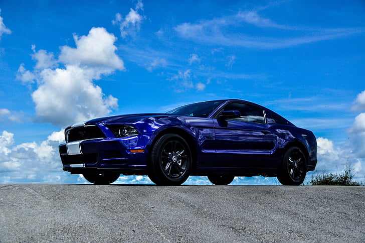 Mustang, voiture, voiture de muscle, mustang de Ford, Auto, véhicule, rapide