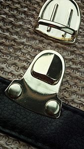 胸针, 袋, 黄金, 时尚