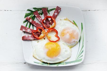 omlett, muna, Hommikusöök, roog, rebu, toitumine, Eelroog