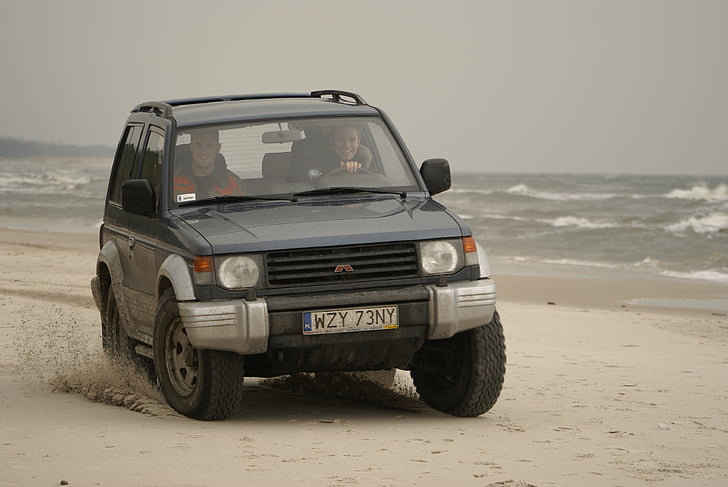 cars, area, 4 x 4, fun, adrenalin, car, beach