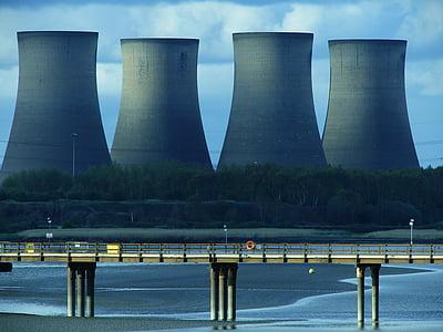 міст, Зміна клімату, градирень, енергія, навколишнє середовище, промислові, промисловість