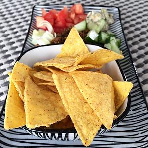 nachos, tacs, xips, fredagsmys, Orgànica, aliments ecològics, TexMex