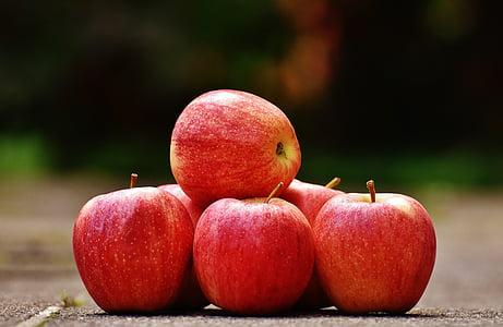 яблоко, красный, вкусный, фрукты, спелый, Красное яблоко, Фриш