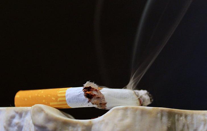 cigarret, la última cigarreta, fumar, Cendrer, bóta de cigarreta, cendra, burilla de cigarret
