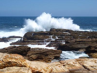 Mar, les ones, oceà