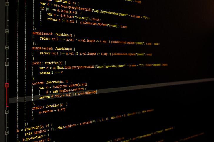 Monitor, programació, programació informàtica, ordinador, desenvolupament, disseny, codi de programació