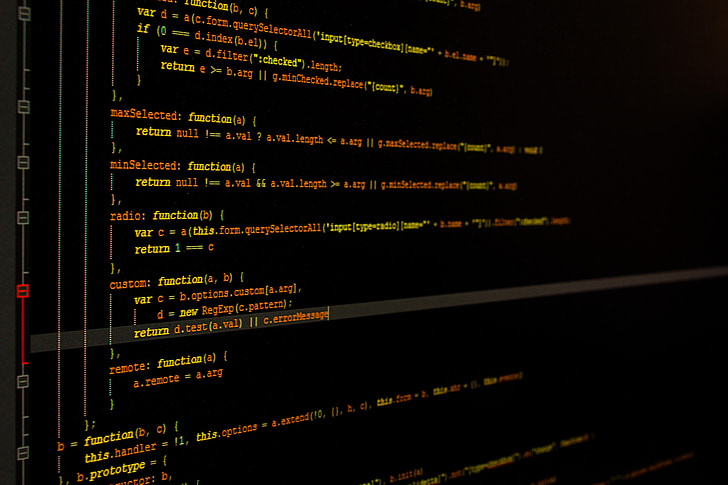 monitor, programming, computer programming, computer, development, design, programming code