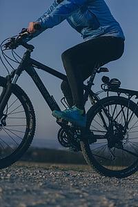 bicikala, bicikl, biciklizam, biciklist, Mountainbike, osoba