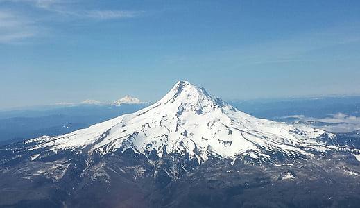 Mt, caputxa, muntanya, Oregon, nord-oest, Neus perpètues, Majestic