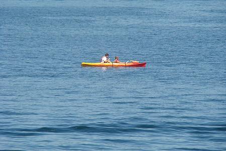 kayak, water, fun, boat, kayaking, sport, activity